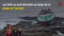 Tempête Miguel : 3 morts lors du chavirement d'un bateau de sauveteurs