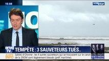 """""""C'est un drame de la mer, un de plus"""" : Stéphane Buchou (député LaREM de Vendée) se rend avec François de Rugy aux Sables-d'Olonne"""