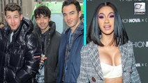 The Jonas Brothers Couldn't Stop Gushing About 'Queen' Cardi B & Her 'Brutal Honesty'