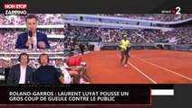 Roland-Garros : Laurent Luyat pousse un gros coup de gueule contre le public