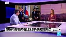 75è anniversaire du Débarquement : les liens entre Paris et Washington au cœur des discours