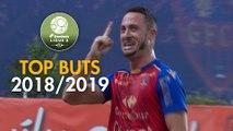 Top 3 buts Gazélec FC Ajaccio   saison 2018-19   Domino's Ligue 2