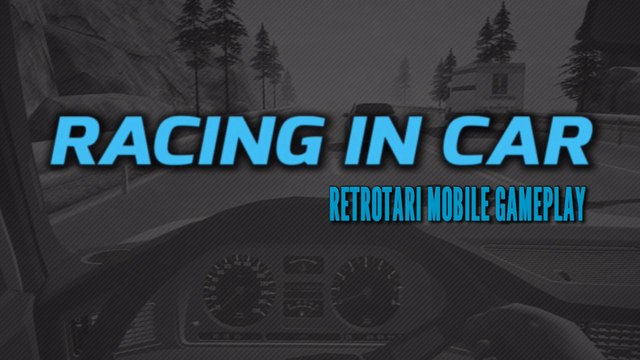 Playing Racing in Car - (iOS)