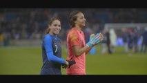 """""""J'espère ramener la coupe aux Minguettes""""  -  Amel Majri, joueuse de l'équipe de France dans le documentaire LIONNES"""