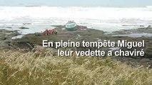Tempête Miguel: trois sauveteurs périssent en mer