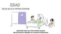 Faire appel à un service de soins infirmiers à domicile - SSIAD  (Ensemble pour l'autonomie, juin 2019)