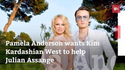 Pamela Anderson Asks For Kim K's Help