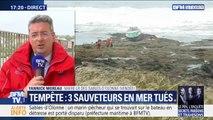 Navire échoué aux Sables-d'Olonne: le récit des sauveteurs rescapés