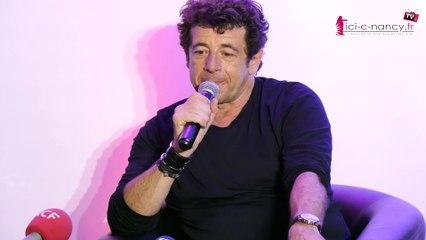 Patrick Bruel présente son concert du 22 juin à Nancy