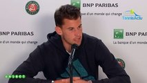 "Roland-Garros 2019 -  Dominic Thiem : ""Rafael Nadal walked on me"""