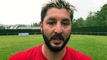 Coupe du Rhône – Aurélien BRUGNIAUD réagit après la victoire du FC LLYON contre MDA Foot B