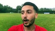 Coupe du Rhône – Lucas FONTANA réagit après la victoire du FC LLYON contre MDA Foot B
