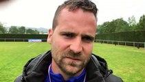 Coupe du Rhône – Clément GUILLOT réagit après la défaite de MDA Foot B contre le FC LYON