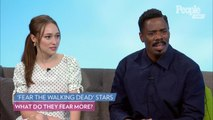 'Fear the Walking Dead's' Alycia Debnam-Carey & Colman Domingo Fear the Dead and....Internet Trolls