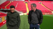 Trent Alexander-Arnold explains the story behind THAT corner against Barcelona with Jamie Carragher