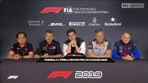 F1 2019 Canadian GP - Friday (Team Principals) Press Conference