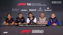 F1 2019 Canadian GP - Team principals' Press Conference