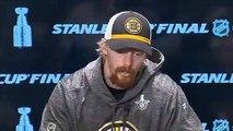Boston Bruins speak ahead of Game 6 of Stanley Cup Final versus St. Louis Blues