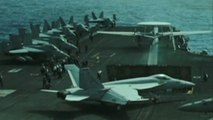 U.S. flexes military muscle near Iran after tanker attacks