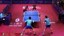 Tomokazu Harimoto/Hina H. vs Wong Chun Ting/Doo Hoi K. | 2019 ITTF Hong Kong Open Highlights (R16)