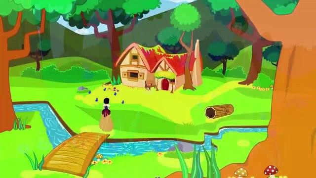 Blanche Neige et les 7 nains - Dessin animé en français - Conte pour enfants avec les