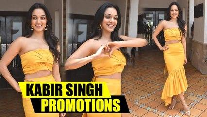 Kiara Advani Looks STUNNING While Kabir Singh Movie Promotions