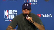Curry 'believes' the team can bounce back a 3-1 deficit in the NBA Finals