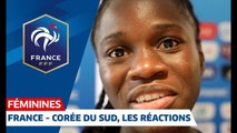 France - Corée du Sud Féminines 4-0  les réactions I FFF 2019