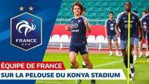 Veille de Turquie-France à Konya Equipe de France I FFF 2019