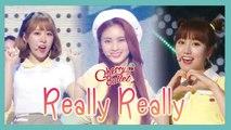 [HOT] Cherry Bullet - Really Really , 체리블렛 - 네가 참 좋아 Show Music core 20190608