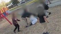 Une maman se fait frapper par des enfants de 10 à 13 ans dans une aire de jeux