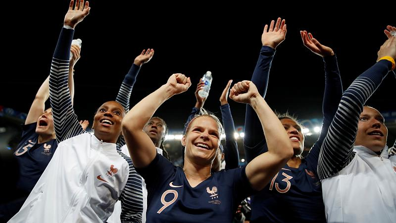 Hosts France celebrate winning start to Women's World Cup