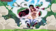 Luffy Shows His Gear 4 to Rayleigh, Rayleigh Vs Gear 4 Luffy, Luffy's Training, One Piece Ep 870