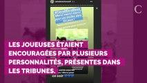 PHOTOS. Coupe du monde féminine 2019 : Marine Lorphelin, Sylvie Tellier, Emmanuel Macron, Brigitte,… pluie de personnalités dans les tribunes