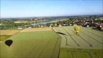 Montgolfiades 2019 : Voyage en ballon en direction de Verjux