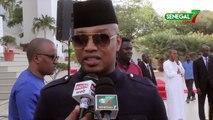 Remise de drapeau- El Hadji Diouf à Sadio Mané -il doit montrer aux concurrents  il est le meilleur-