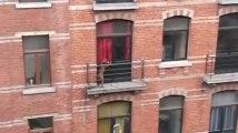Bruxelles : il enferme et abandonne son chien sur son balcon en pleine tempête !