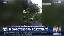 """Tempête Miguel: """"Plus de 1000 techniciens d'urgence électricité"""" sont déployés pour rétablir le courant d'après Enedis"""