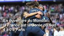 Mondial de foot féminin: les supporters des Bleues ravis