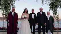 Photos of Turkish President is Ozil's 'best man' at his wedding