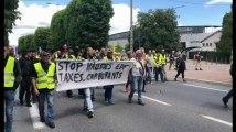 Des Gilets jaunes manifestent à Troyes samedi 8 juin