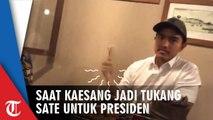 Kaesang Jadi Tukang Sate untuk Presiden: Terima Kasih Sudah Mempercayakan Saya