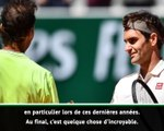 """Roland-Garros - Kuerten : """"Nadal battra tout le temps Federer"""" sur terre battue"""