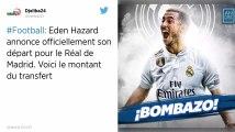 Mercato. Le message d'adieu d'Eden Hazard aux supporters de Chelsea