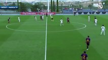 Le but du milieu de terrain de Antonio Blanco lors du Clasico U19