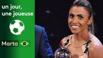 Un jour, une joueuse :  Marta (Brésil)