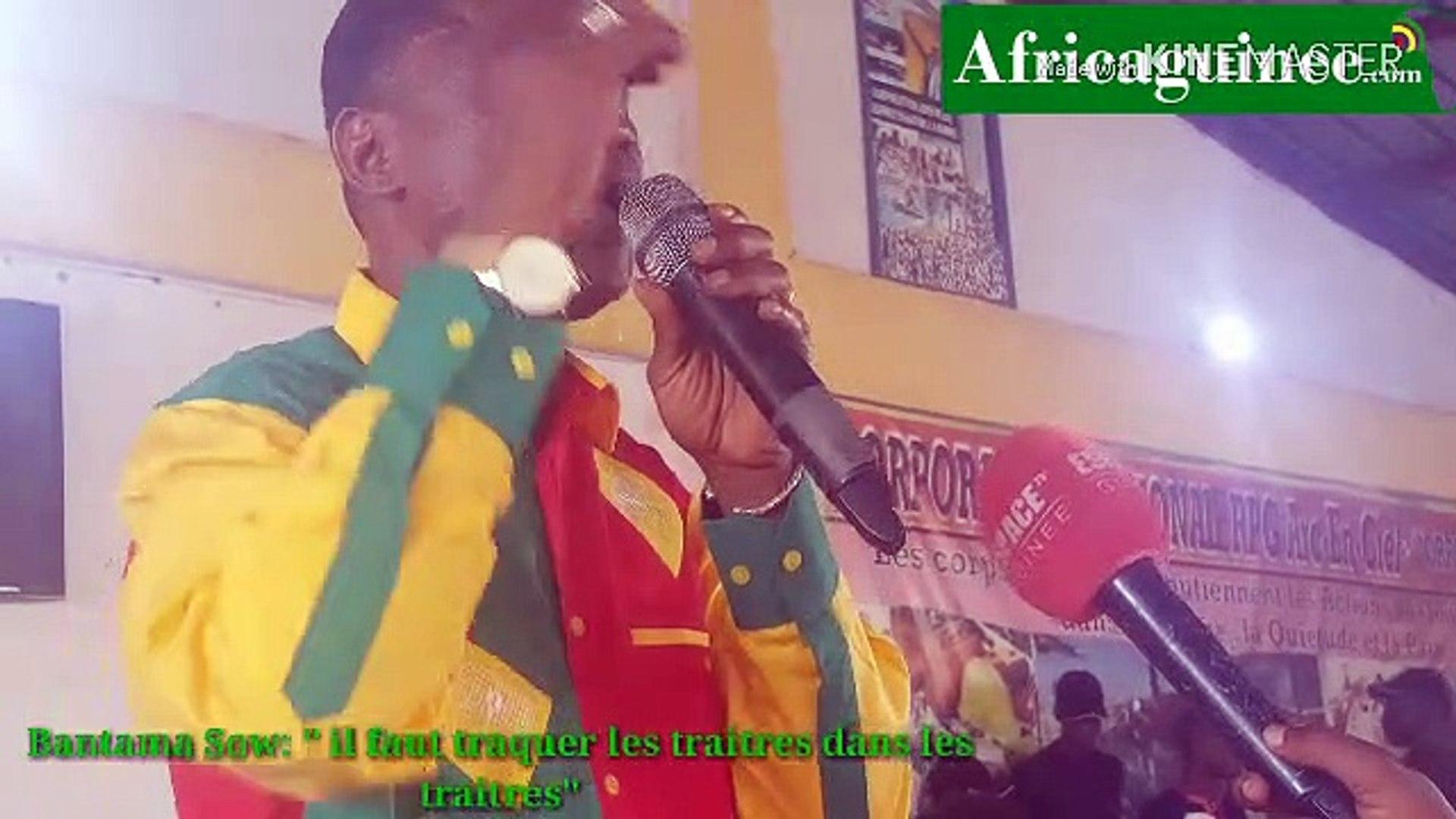 Bantama Sow : « il faut traquer ceux qui élisent des antennes du Front… »