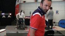 Championnat de France escrime Handisport Sabre N1 Dames demi finale Nîmes