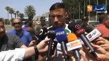 Déclarations de Belaili et Feghouli avant le départ au Qatar