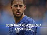 Chelsea - Eden Hazard en chiffres avec les Blues